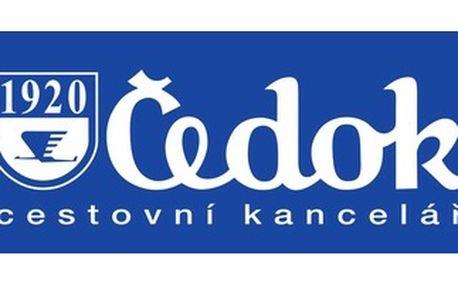 Čedok v OC Nový Smíchov - Sleva až 25 % pro seniory ( nad 55 let ) na vybrané hotely a termíny do SAE