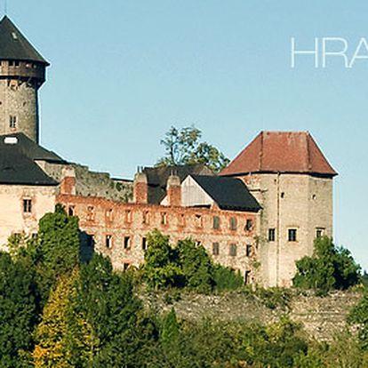 60minutové prohlídky krásného hradu Sovinec