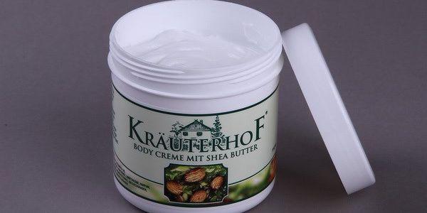 Tělový krém s bambuckým máslem, 250 ml Krauterhof