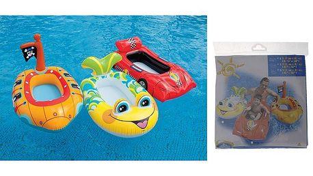 Dětský člun ve tvaru auta