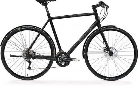 Sportovní městské kolo MERIDA S-Presso 300-D Silk black(grey) 45cm