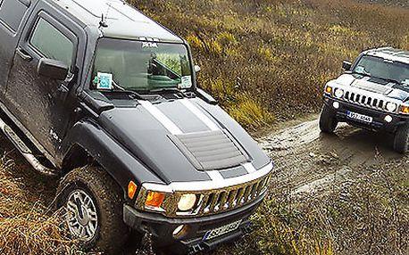 Adrenalinová jízda v Hummer H3 po dobu 45 minut