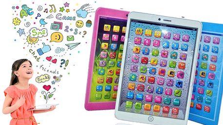 Dětský tablet pro malé angličtináře