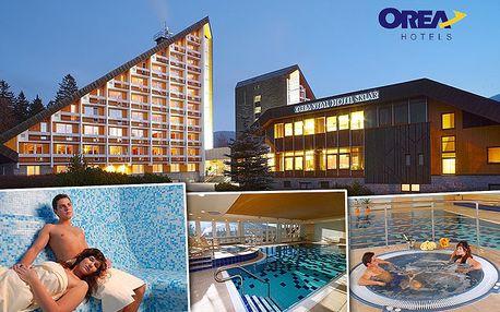 3denní wellness dovolená v Orea Vital Hotelu Sklář**** pro 2