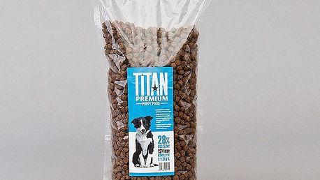 Titan premium krmivo pro štěňata, 1 kg