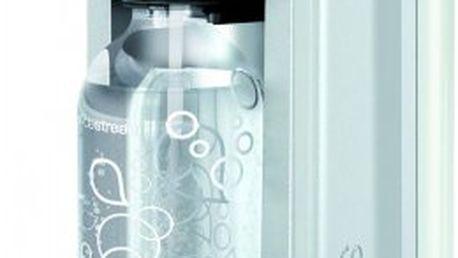 Velmi snadná příprava sodovky díky sodastream fizz white bez lcd/chip