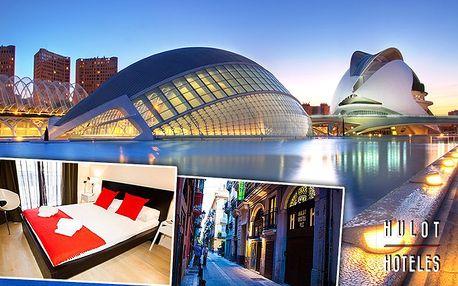 3denní pobyt v Hulot Hostelu v historickém centru Valencie