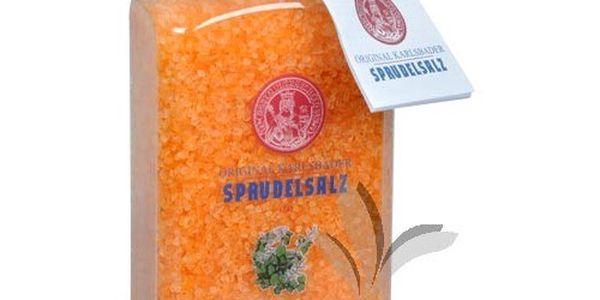 Koupelová sůl Original Karlsbader patchouli s růžovým dřevem 600 g