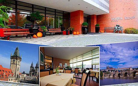 Jedna noc pro 1 nebo 2 osoby se snídaní v pražském hotelu Expo****