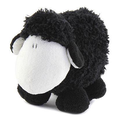 Plyš Sheepworld Plyš 20cm ovečka černá stojící, Sheepworld