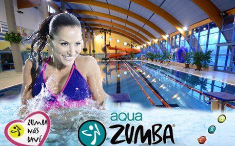 Aqua Zumba® s wellness za 95 Kč! 90 minut párty v Aquacentru Bohumín!