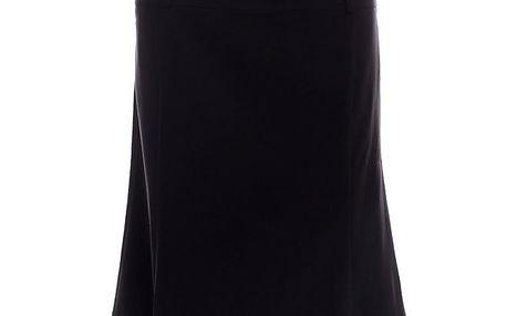 Dámská černá sukně po kolena 2two