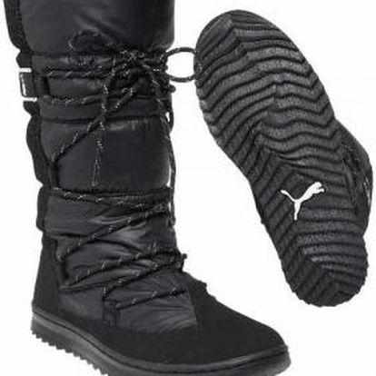 Puma SNOW NYLON BOOT WNS černá EUR 41 (7.5 UK women)