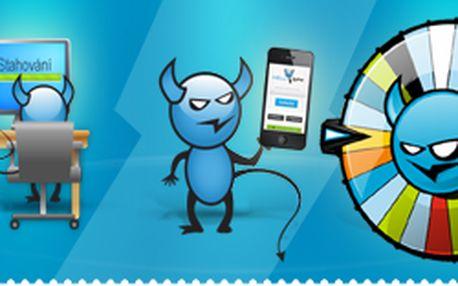 Získej 14 000 MB na stahování bez čekání + kolo štěstí o iPhony 5s, iPady...