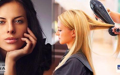 Kadeřnický balíček s melírem a regeneračním zábalem vlasů, včetně foukané a závěrečného stylingu u metra Hradčanská! Použita je luxusní vlasová kosmetika TIGI!