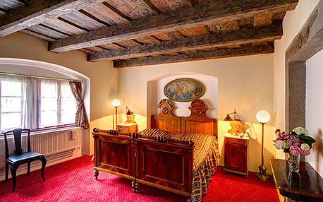 Romantický luxusní pobyt pro DVA jen kousek od Pražského hradu