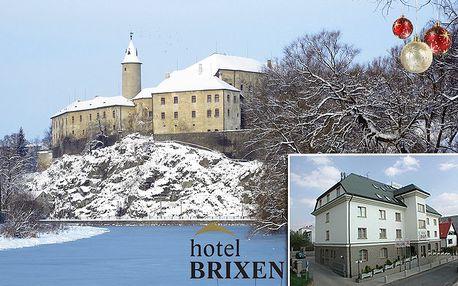 3denní pobyt pro 2 osoby v hotelu Brixen v Havlíčkově Brodě