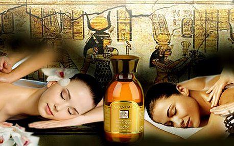 Báječný Rituál Pharaon - vysoce harmonizující egyptská masáž celého těla. Užijte si 100 minut perfektní relaxace.