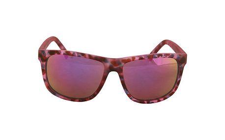 Fialkové brýle No Limits s barevným vzorem