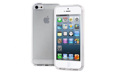 Ochranný kryt z pružného semi-transparentního materiálu pro iPhone 5 od italské značky Puro
