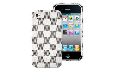 Ochranný zadní kryt na iPhone 4/4S DAMA WHITE italské značky PURO