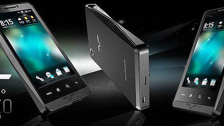 Český smartphone Verzo Kinzo s Androidem