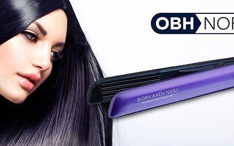 Rychlonahřívací žehlička na vlasy OBH Nordica