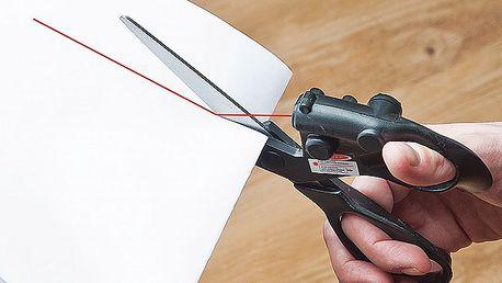 Nůžky s laserem