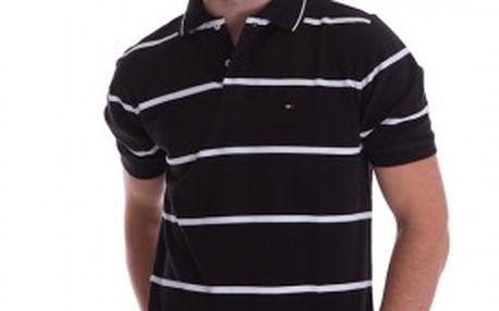Pánské módní pruhované polo tričko Tommy Hilfiger