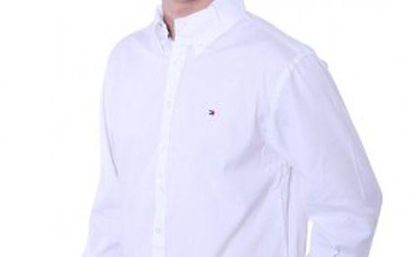 Pánská bílá košile Tommy Hilfiger ideální do společnosti