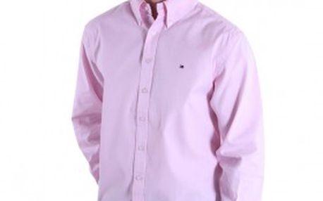 Pánská košile Tommy Hilfiger růžová 40503