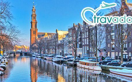 Amsterdam - dovolená ve městě kanálů