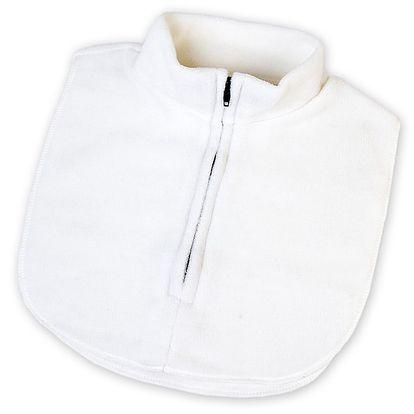 Fleecová vsadka 32x33cm, bílá