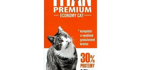 Titan Premium kompletní krmivo pro kočky, 20kg
