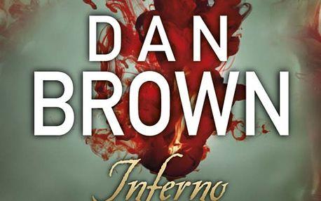 Inferno od Dana Browna. Napínavý román nadväzuje na sériu so symbolistom Robertom Langdonom a čitateľov zavedie na cestu hlboko do mystickej ríše kódov, symbolov a tajných chodieb