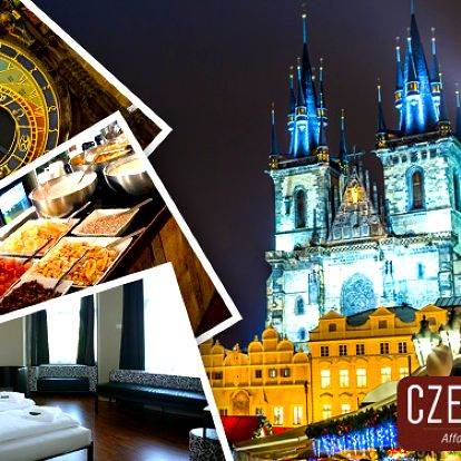 Romantika pro dva v hotelu Czech Inn v centru Prahy