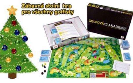 Kdo si hraje, nezlobí...nebo také golfová škola hrou, to přináší stolní hra Golfová akademie se slevou 25%. Zábava, ale také výborná možnost otestovat znalosti pravidel či historie golfu