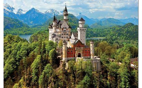 Puzzle Zámek Neuschwanstein, 1500 dílků
