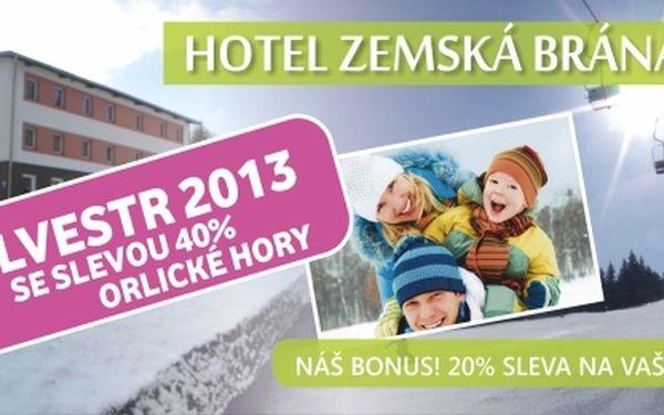 Silvestrovský večer 2013 v hotelu Zemská brána