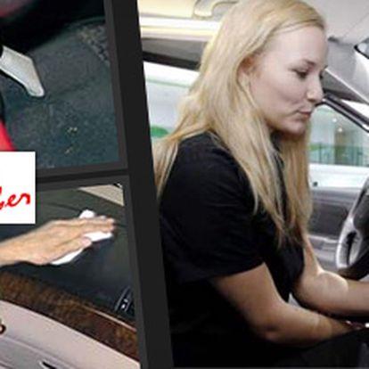 Profesionální důkladné čištění aut mokrou cestou + 20% sleva na autofólie