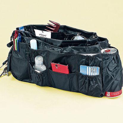 Organizér do kabelky ocení zejména ženy, které rády střídají kabelky