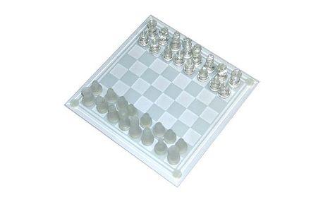 Skleněné šachy Chess - dokonalé a precizní zpracování