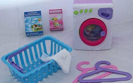 Pračka s příslušenstvím pro děti - sada pro malou hospodyňku