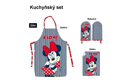 TIP TRADE Kuchyňský set Minnie, 3 kusy