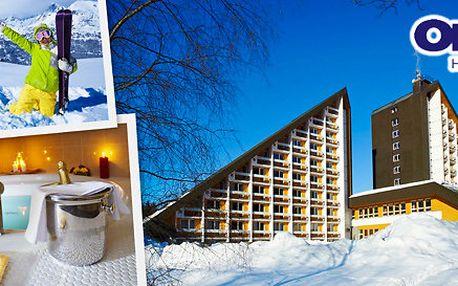 5denní luxusní wellness i lyžování v Harrachově