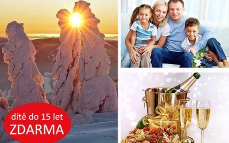 Rodinný pohádkový Silvestr v Kysuckých Beskydech s wellness NEOMEZENĚ