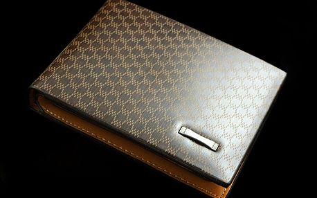 Kožená peněženka ELEGANT!! Krásný vzor