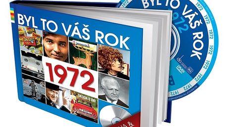 Byl to Váš rok 1972 - dárková knížka s DVD