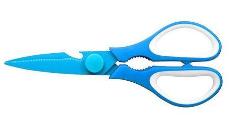 Modré multifunkční nůžky GOOD4U 21 cm CS Solingen