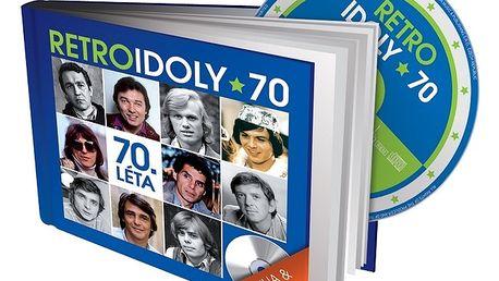 Originální dárek - Retro idoly 70. léta CD+kniha